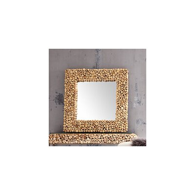 Pebble Square Mirror