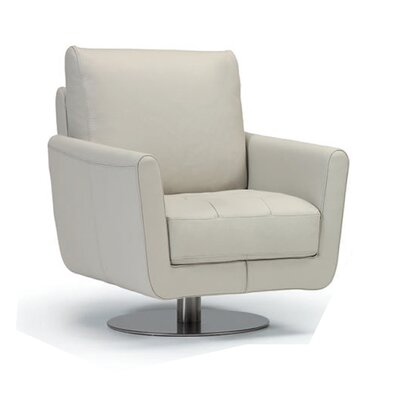 Maureen Swivel Chair Upholstery: Light Gray