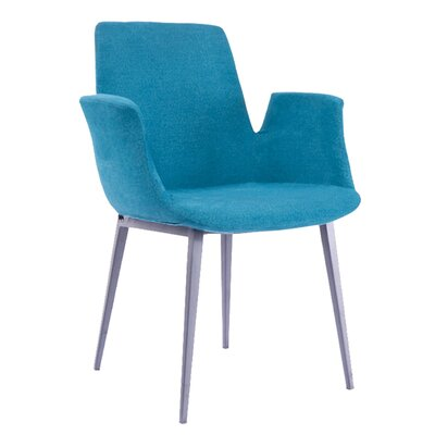 Kenia Arm Chair Upholstery: Blue