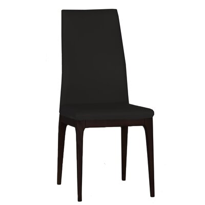 Kennedi Side Chair (Set of 2) Upholstery: Black