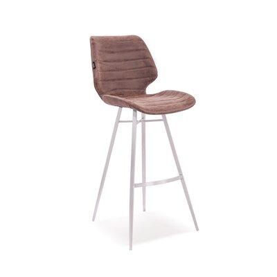 Tayla 42 Barstool Upholstery: Vintage Brown