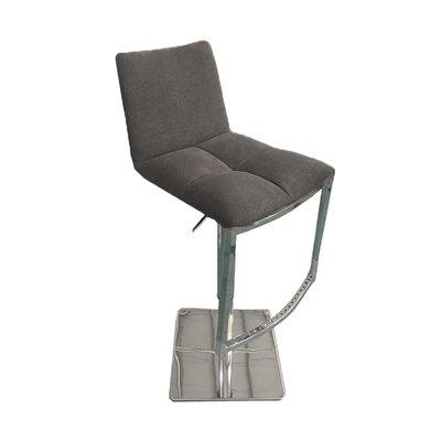 Jaycee 42 Swivel Barstool Upholstery: Gray