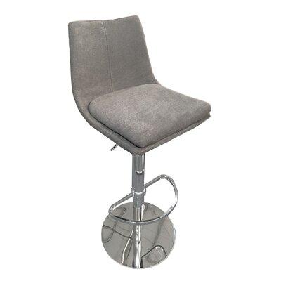 Elco 44 Swivel Barstool Upholstery: Charcoal