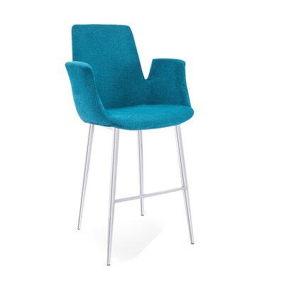 Kenia 45 Barstool Upholstery: Blue