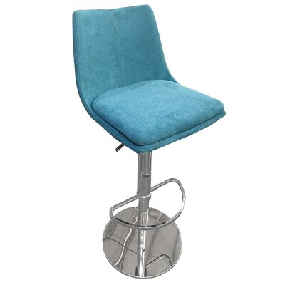 Elco 44 Swivel Barstool Upholstery: Orange