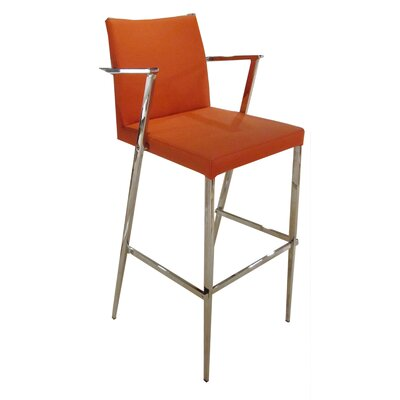 29 Bar Stool Upholstery: Brown
