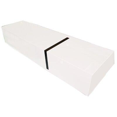 Cheap Bellini Modern Living Monica 71″ TV Stand in White (BIM1238)