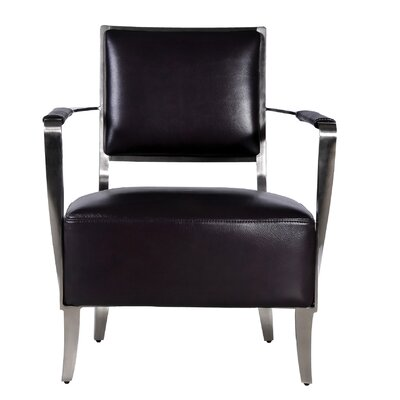 Oscar Arm Chair Color: Black