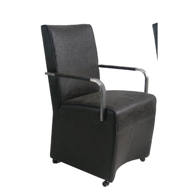 Picture of Bellini Modern Living Melzo Fabric Arm Chair in Large Size
