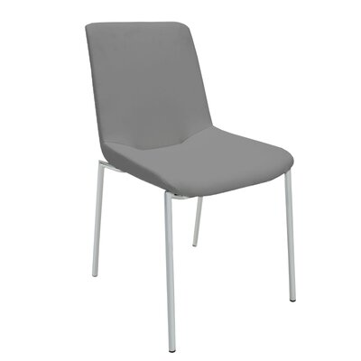 Aiden Side Chair (Set of 2) Upholstery: Grey