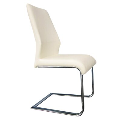 Lotto Side Chair (Set of 2) Upholstery: White