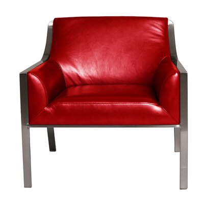 Malibu Armchair Upholstery: White