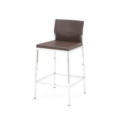 Avanti 25 Bar Stool Upholstery: Brown