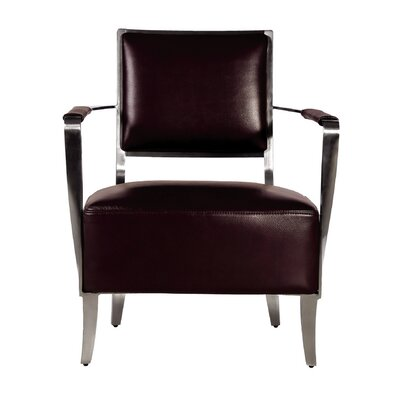 Oscar Armchair Color: Brown