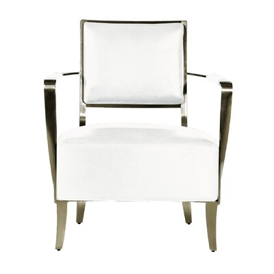 Oscar Armchair Color: White