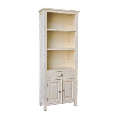 "Gene 71"" Standard Bookcase Finish: Light Distressed Linen"