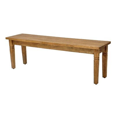 Sedona Dining Bench Finish: Rustic Mango Natural