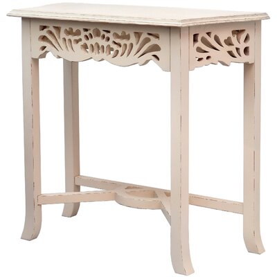 Newport End Table Finish: Light Distressed Linen
