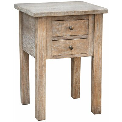 Jamison End Table Finish: Mango Grey