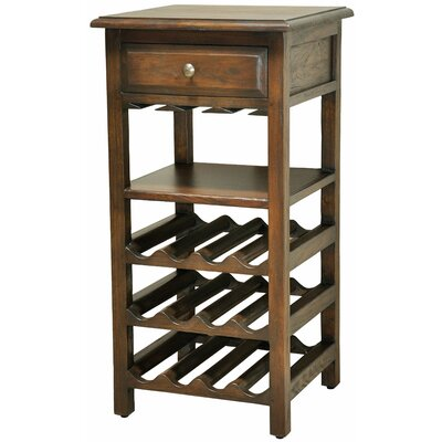 Shenandoah 12 Bottle Floor Wine Rack