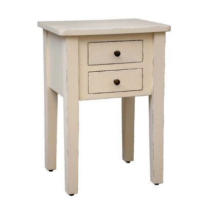 Jamison End Table Finish: Light Distressed Linen