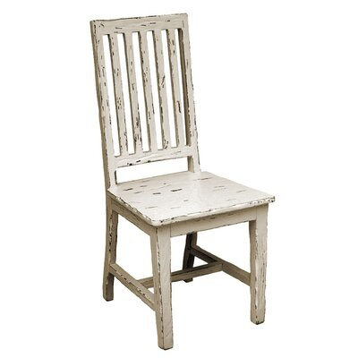 Provence Side Dining Chair (Set of 2) Finish: Off-White