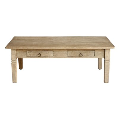 Sedona Rectangular Coffee Table Finish: Mango Gray Wash