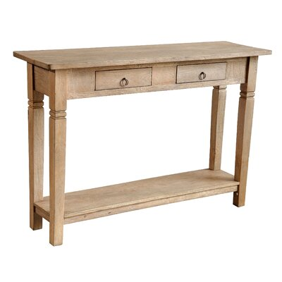 Sedona Console Table Finish: Rustic Mango Grey Wash