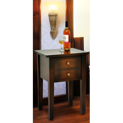 Jamison End Table Color: Medium Brown