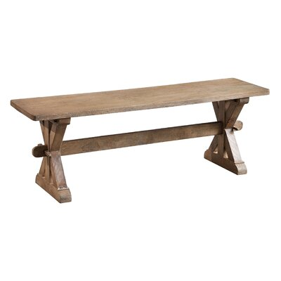 Chamonix Wood Entryway Bench