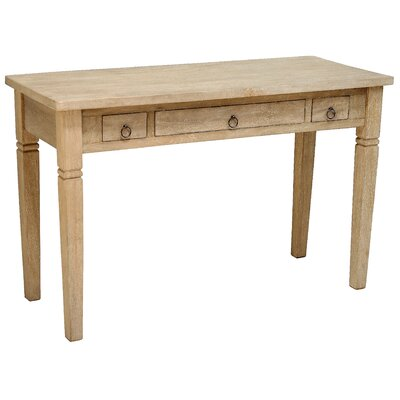 Sedona Writing Desk Finish: Rustic Mango Grey Wash