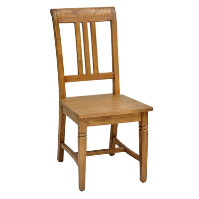 Sedona Solid Wood Dining Chair (Set of 2) Finish: Rustic Mango Natural