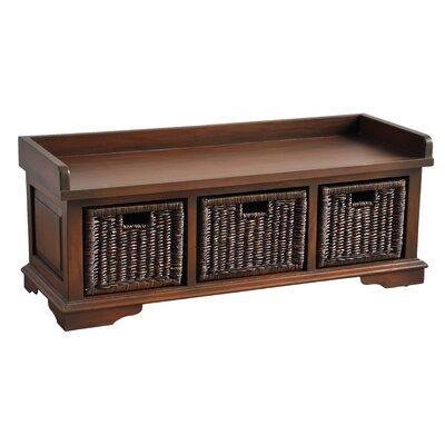 Maryellen Wood Storage Entryway Bench DABY1242 38378496