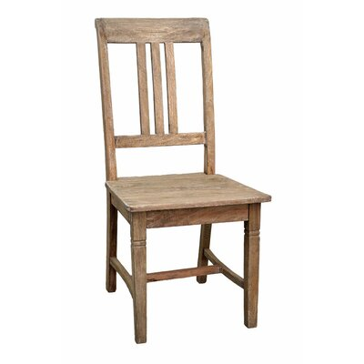 Sedona Side Chair (Set of 2) Finish: Rustic Mango Gray Wash