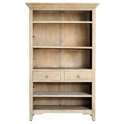 77 Standard Bookcase Finish: Mango Grey