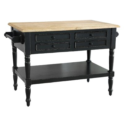Brookstonval 8 Drawer Kitchen Island
