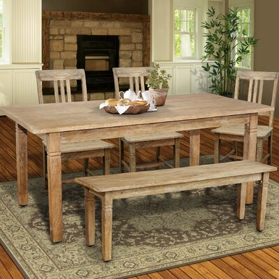 Sedona Dining Table Finish: Rustic Mango Grey Wash