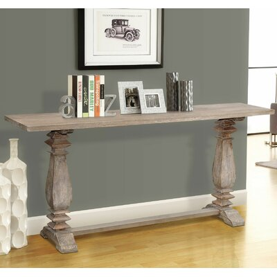 Pannell Console Table