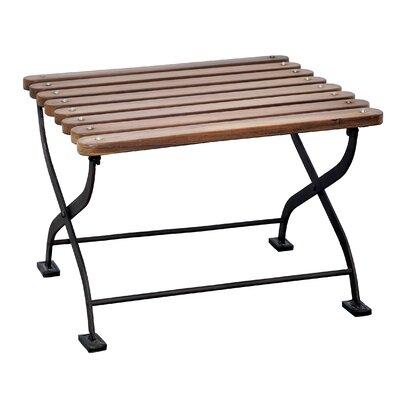Toscana Iron/Teak Side Table