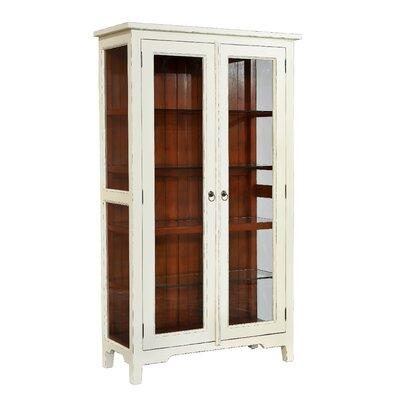 Timmy Standard Curio Cabinet Finish: White