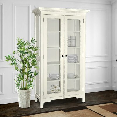 Library Cabinet Finish: Light Distressed Linen