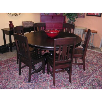Buy low price casual elements biltmore 7 piece dining for Kitchen table set 7 piece