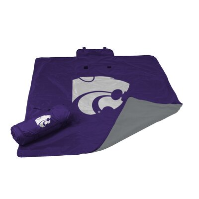 NCAA Kansas State All Weather Fleece Blanket