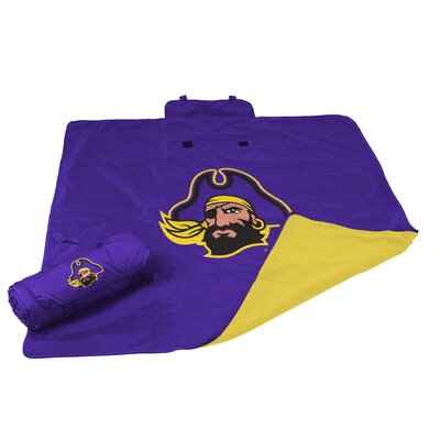 NCAA East Carolina All Weather Fleece Blanket