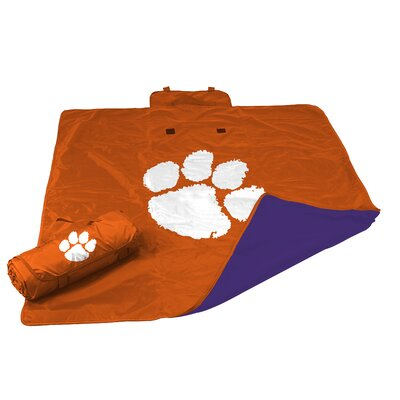 NCAA Clemson All Weather Fleece Blanket