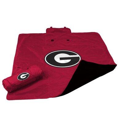 NCAA Georgia All Weather Fleece Blanket