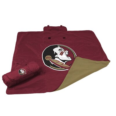 NCAA Florida State All Weather Fleece Blanket