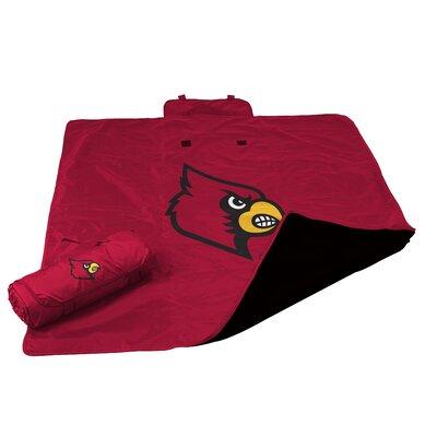 NCAA Louisville All Weather Fleece Blanket