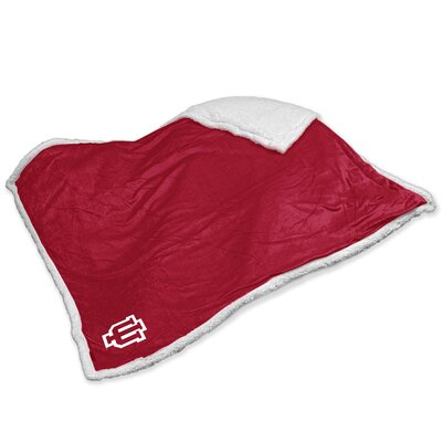 NCAA Indiana Sherpa Throw