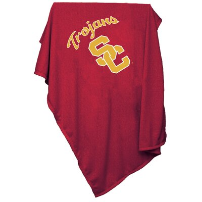 NCAA University of Southern California Sweatshirt Blanket